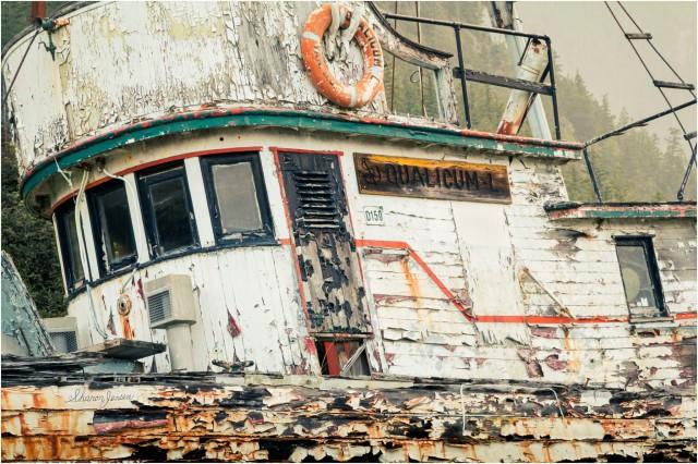 © Sharon Jensen - Seen Better Days-Qualicum L-Tallheo Cannery