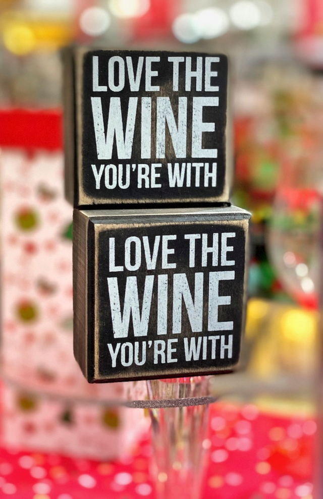 CarolJ Festive Love The Wine You're With
