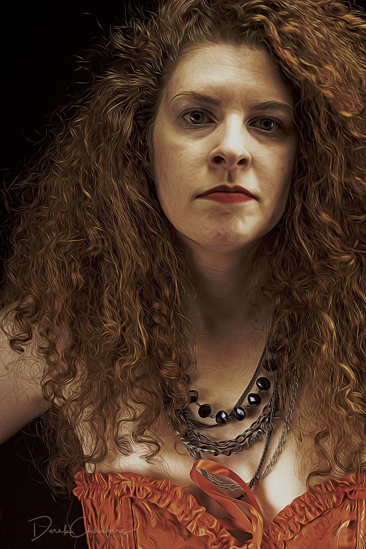 Kendra Cox - The Red Corset - Derek Chambers