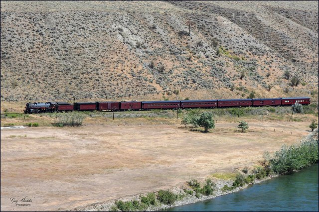 Gary Hardaker- Canadian Pacific 2816 Hudson (south of Spences Bridge)