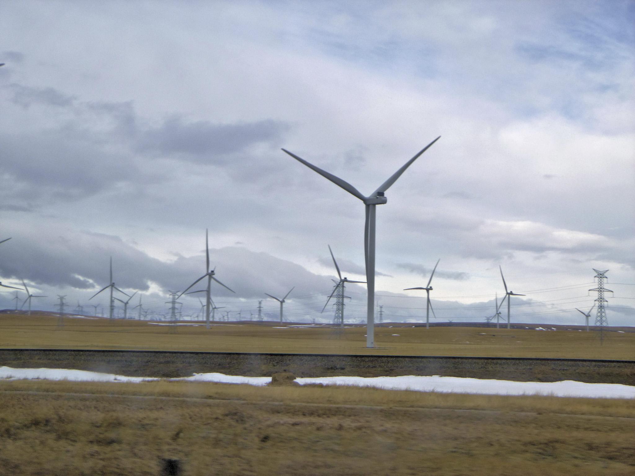 Doug Boyce - Wind Farm @ Pincher Creek AB