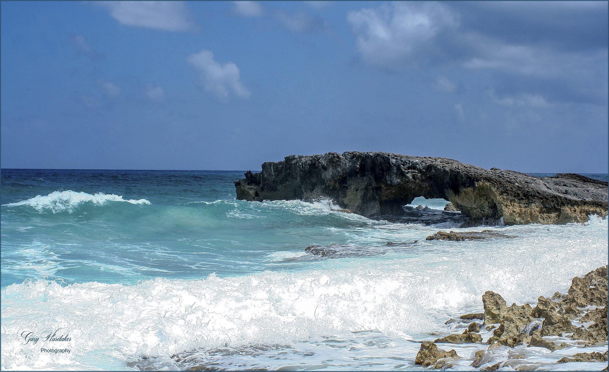 Gary Hardaker-EL Mirador- Rock Arch- Cozumel Mexico