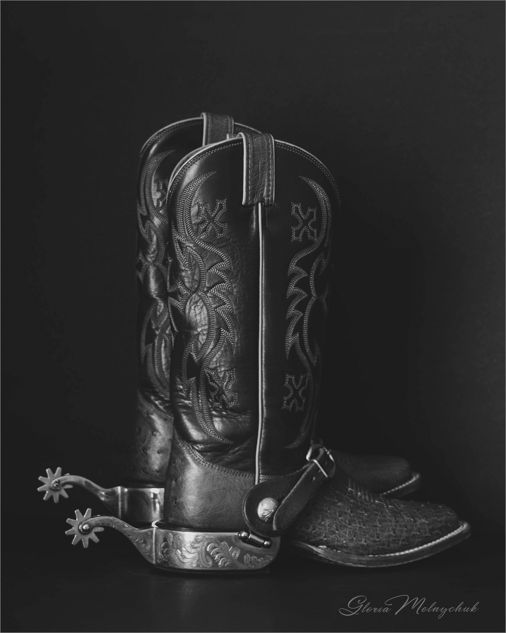 Boots and Spurs © Gloria Melnychuk