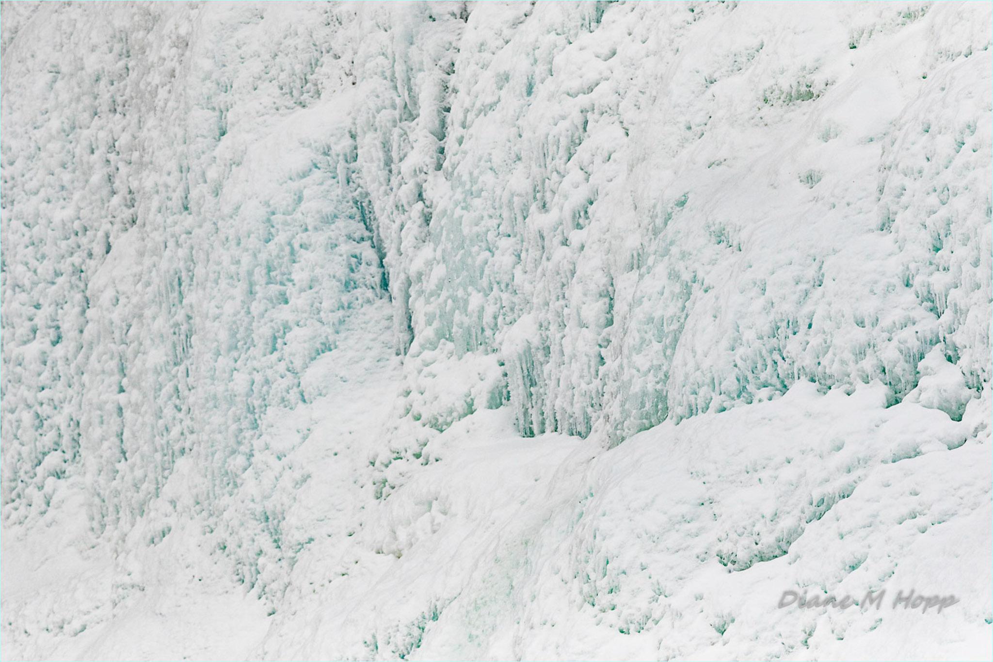 Diane Hopp -Minimalist - Ice Textures