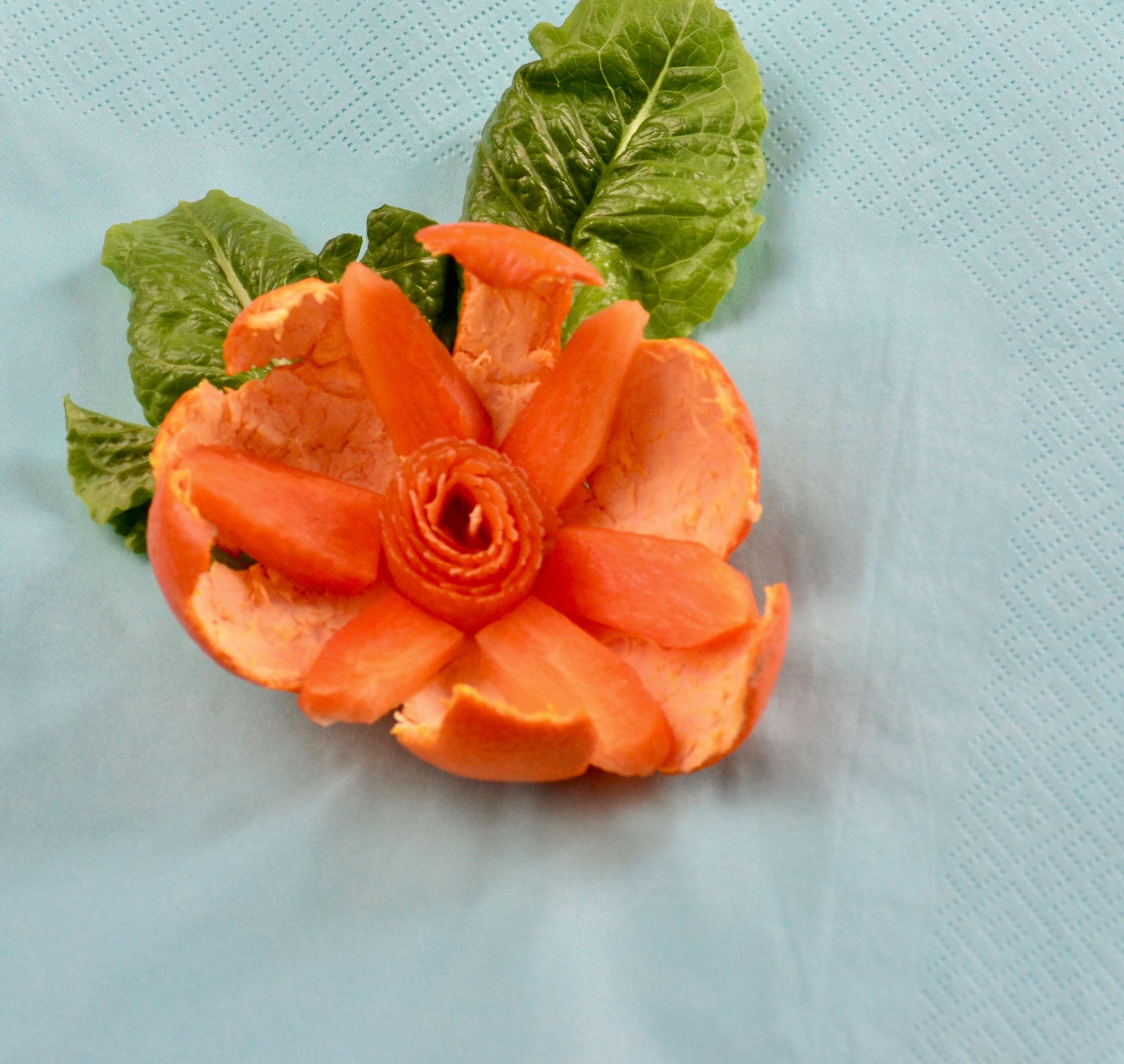 Diane Sullivan - ROC Flower (Romaine, Orange, Carrot)