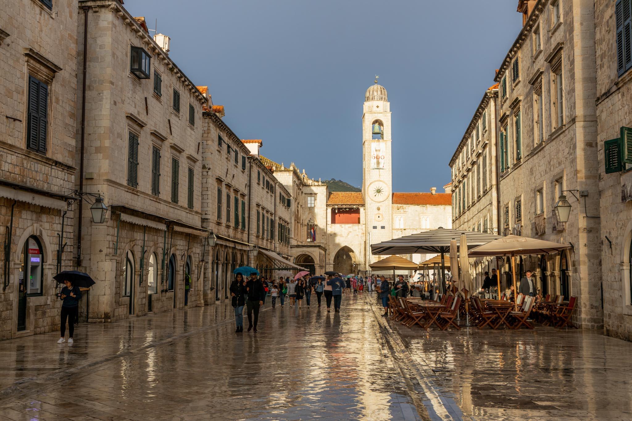 DM Dubrovnik in the Rain_Donna Marshall
