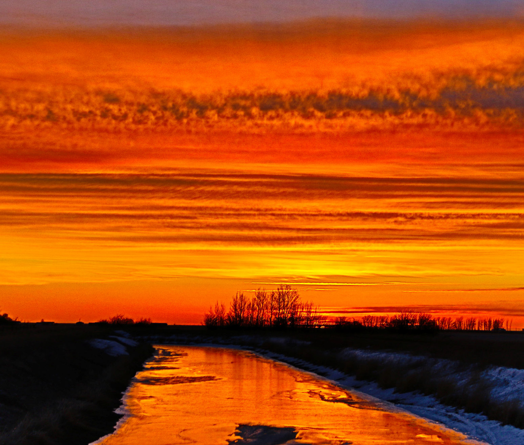 Canal Sunrise - Doug Boyce