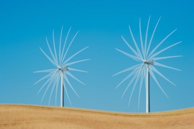 Larry Citra © Wind Turbines, Palouse