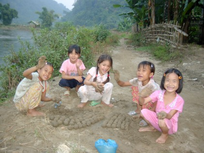 Derek Chambers - Mudball Fun - Vietnam Village 2001