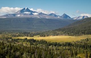 Sharon Jensen - © - Tsylos Mountain Overlooking Elkin Creek Guest Ranch-2019