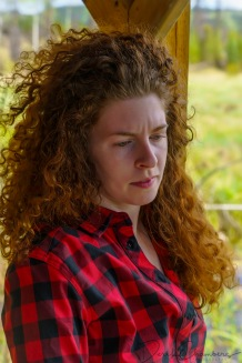 Kendra Cox - Thoughtful at Larry's cabin