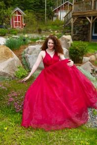 Kendra Cox - In the garden