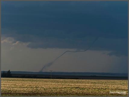 Kevin Haggkvist...Tornado near Elrose Sask