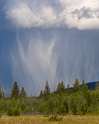 Nancy Cunningham Thunderstorm in the chilcotin