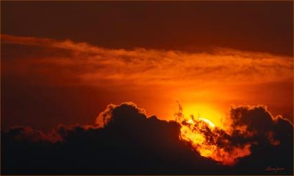 Sharon Jensen - © - Ominous Sunrise