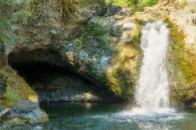 The Falls in August - Painting - Eakin Creek Canyon PP - Derek Chambers
