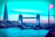 Cyber Punk Version - London Icons - Derek Chambers