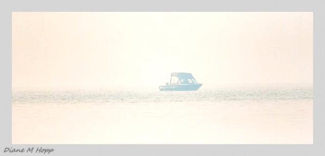 Diane Hopp - Fishing in the Smoke