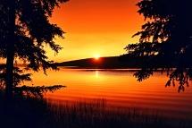 Doug Boyce - Horse Lake Sunset