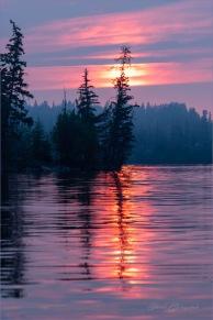 Gloria Melnychuk - Sheridan Lake Sunset July 2021