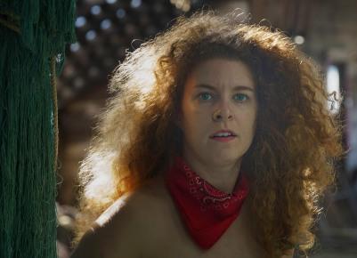 Backlit Kendra in the Net Loft - Tallheo Cannery - Derek Chambers