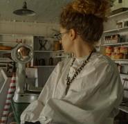 The Shopkeeper (Kendra Cox) in the Tallheo Cannery Company Store - Derek Chambers