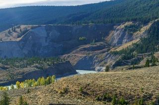 Slumping Landscape - Farwell Canyon - Derek Chambers