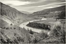 Diane Hopp - A River Runs through It - Sagebrush, Silt and Sheep Trails