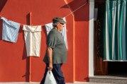 Larry Citra © Street Scene Burano Italy